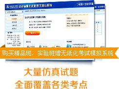 无纸化模拟考试系统会计从业