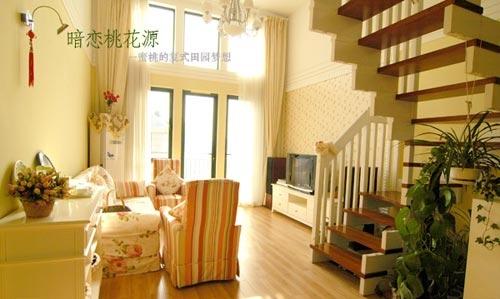 田园复式美女公寓装修图(1)