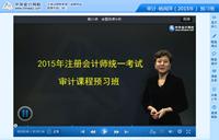 杨闻萍老师2015年注册会计师考试《审计》预习班高清课程