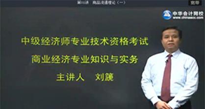 中级经济师名师刘篪