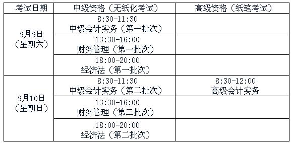 湖南2017年中级会计师考试报名时间为3月21日-31日