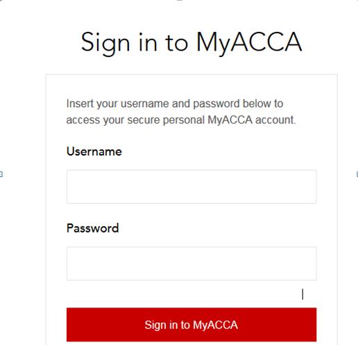 myacca login