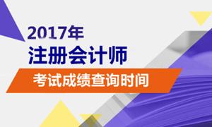 北京2017注会后果查询时间甚么时分宣布?