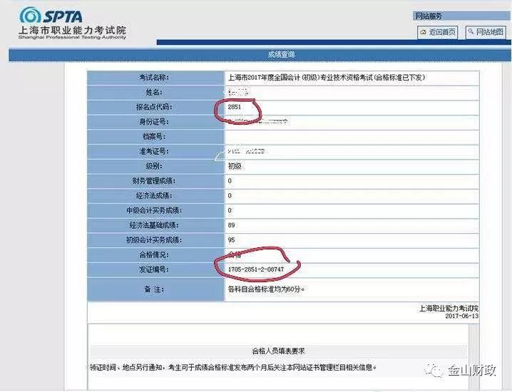 上海初级会计沙龙娱乐合格证书