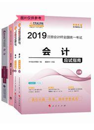"""2019年注册会计师《会计》""""梦想成真""""系列应试指南+经典题解+官方教材"""
