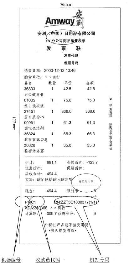 广东省国家税务局关于安利(中国)日用品有限公