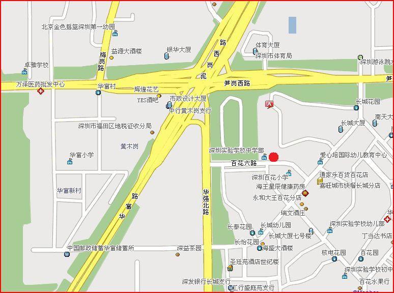 〔深圳〕2008年注会各考点考室地址一览表