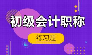 2019年初级会计职称精选练习题汇总 考前冲刺测试!