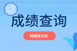 2019年广西资产评估师成绩查询时间