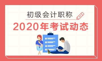 2020年江西景德镇初级会计考试大纲公布了吗?