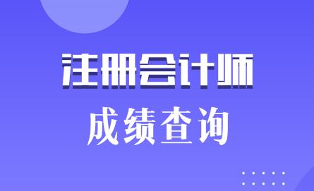 2019年湖北武汉注会成绩查询时间是什么时候?图片