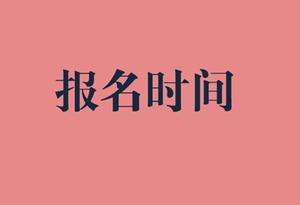 2020年宁夏审计师报考时间图片