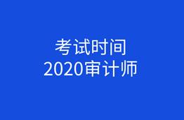 2020年审计师报考时间图片