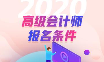2020年高级会计师报名条件