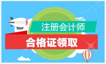 南京注会专业阶段考试怎么领证