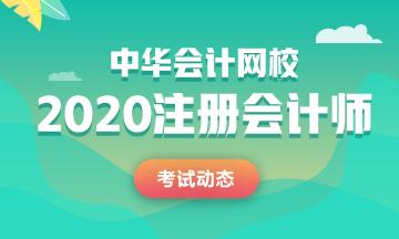 四川2020年注会考试科目