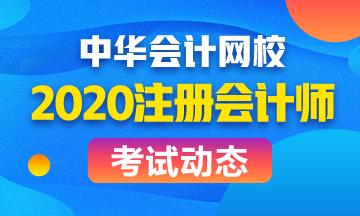内蒙古2020年注会什么时候考试?