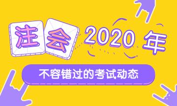 石家庄2020年注会考试时间公布了!