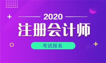 内蒙古2020年CPA报名时间