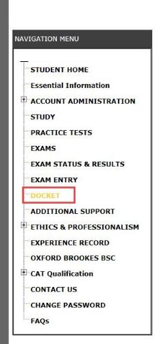 acca考试怎么打印准考证