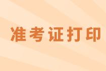 北京2020高级经济师准考证打印信息