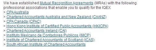 【重磅】南非特许会计师协会与美国注册会计师协会签署互认协议!