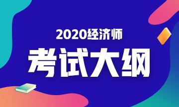 2020年初级经济师《财政税收》考试大纲变动率1%!