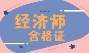 徐州2020高级经济师合格证管理方式及考试科目_高级经济师评审好过吗