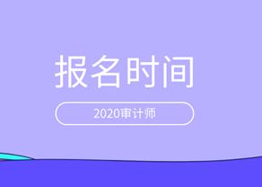 2020初级审计师报考试时间图片