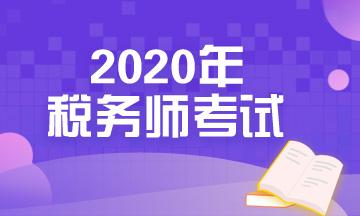 2020税务师考试