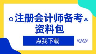 2020年注册会计师成绩查询