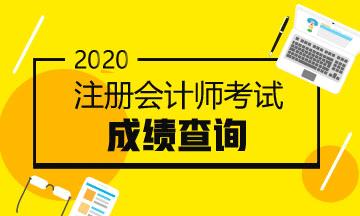 安徽2020年注册会计师考试成绩查询时间新鲜出炉!