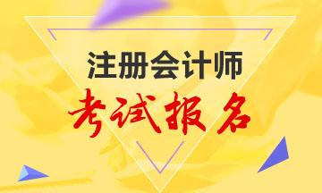 江苏省2020年注册会计师考试有补报名吗?