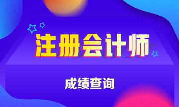吉林省注册会计师考试2020年成绩查询时间公布