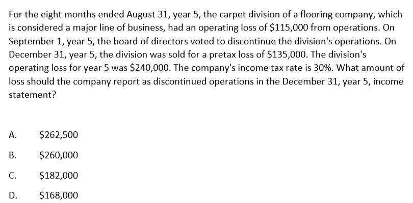 美国注册会计师AICPA历年试题(二十)—FAR