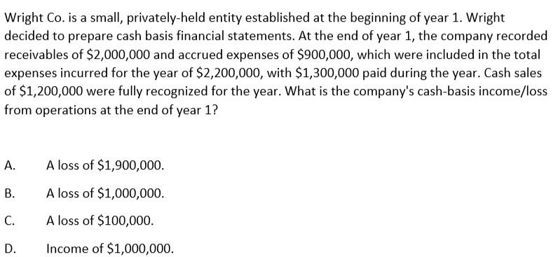 美国注册会计师AICPA历年样题(28)—FAR