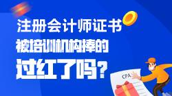 【注会情报局-问题档案】CPA是被培训机构捧的过红了吗?
