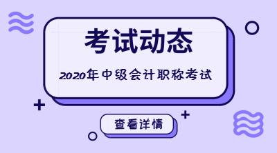 2020年广东中级会计职称考后资格审核对象