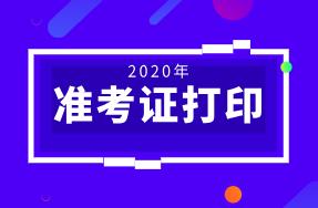陕西2020年初级经济师准考证开始打印!