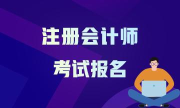 哈尔滨注册会计师2021报考时间