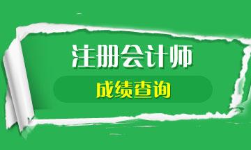 湖北武汉2020注会考试成绩查询时间