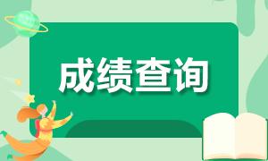 青海2020年CPA成绩查询时间