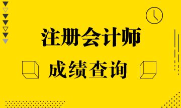2020注会考试江苏南京地区成绩公布时间是什么时候?