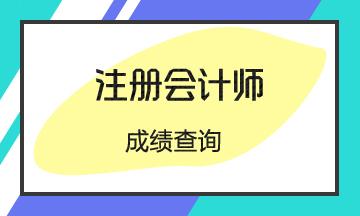 安徽2020年注册会计师成绩查询时间确定了?