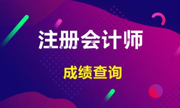 陕西2020年注册会计师成绩查询相关信息来了!
