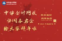 中华会计网校协同大信会计事务所来给大家拜年了!