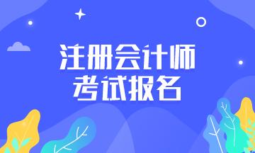 划重点~浙江2021年注会报名时间和报名程序在这里