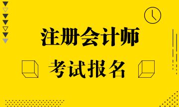 浙江2021年注册会计师报名费用