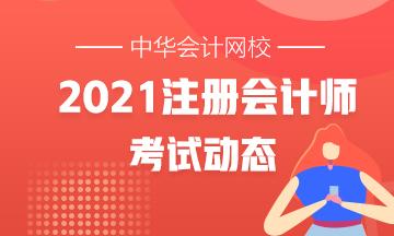 重庆注册会计师2021年考试时间在几月?
