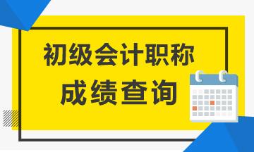2021年安徽铜陵初级会计成绩查询入口你知道吗?
